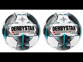 2x Derbystar Bundesliga Brillant APS 2019/20 Offizieller Spielball Größe 5