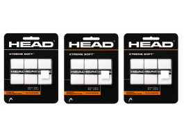 3x Head Xtreme Soft Overgrips 3er Pack