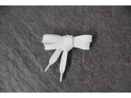 Schnürsenkel weiß flach 9mm Kunstfaser