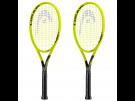 2x Head Extreme Lite Graphene 360 Tennisschläger