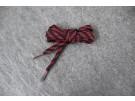 Schnürsenkel Trekking Schwarz/Rot flach 10mm